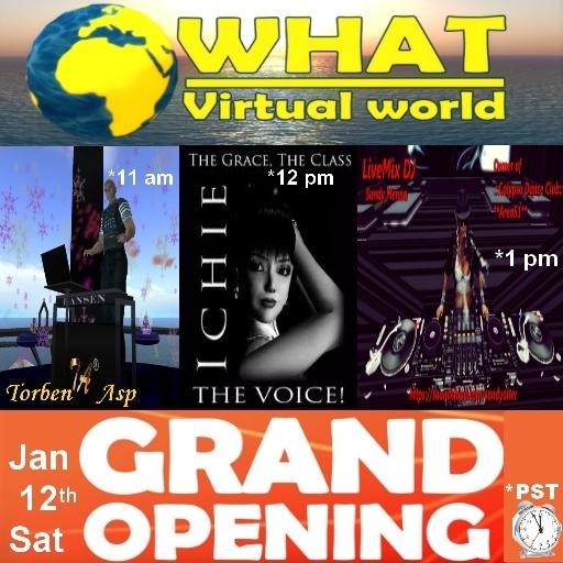 Grand Opening WHAT dj