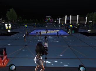 Ichie on stage