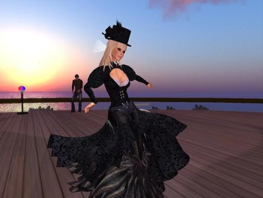 Ko Dancing at a Party for SLSA