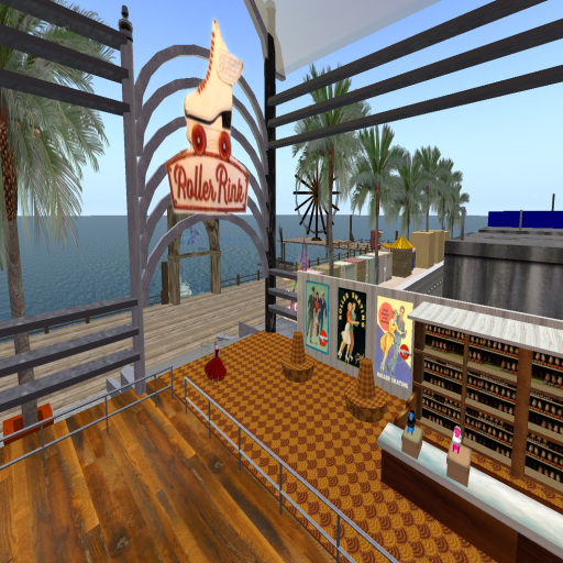 Roller Rink  Dolphin Beach, AAcme City Southside (152, 71, 31) -