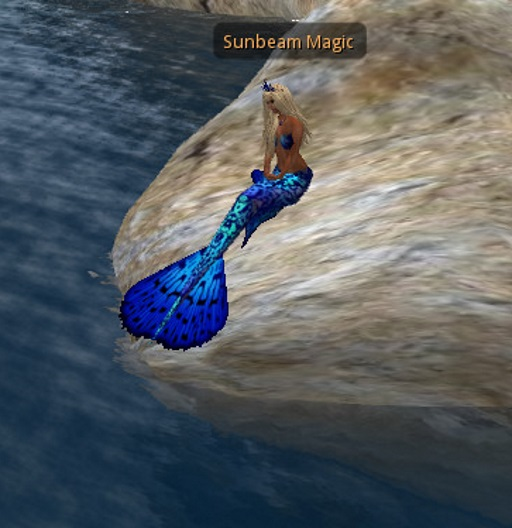 Mermaid Sunbeam Blue